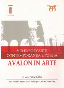 AVALON IN ARTE, VIII EXPO D'ARTE CONTEMPORANEA E POESIA 2019-Pasquale Mastrogiacomo
