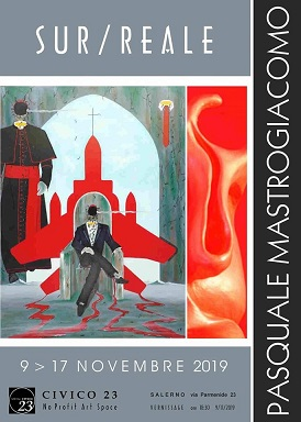 Mostra personale di pittura e scultura di Pasquale Mastrogiacomo.