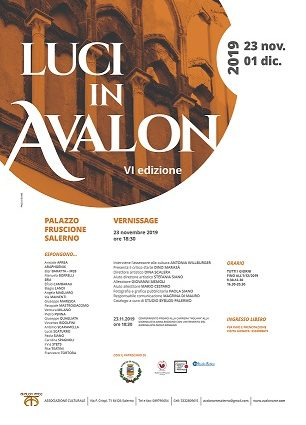 Luci in AVALLON VI edizione, collettiva d'arte contemporanea,Pasquale Mastrogiacomo.