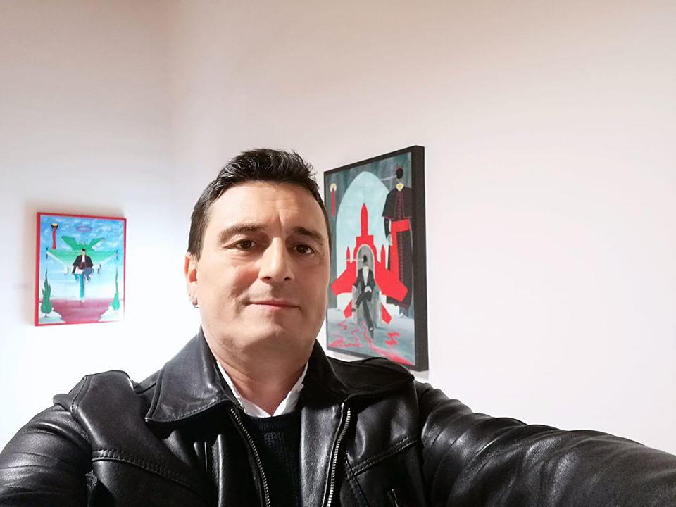 Alla mini personale,Luci in AVALON VI edizione, collettiva d'arte,Pasquale Mastrogiacomo.