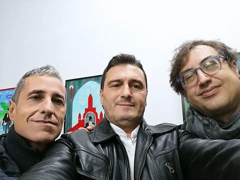 Mostra personale di pittura e scultura di Pasquale Mastrogiacomo, CIVICO 23,Salerno.Con Mario Esposito e Salvatore Criscuolo.