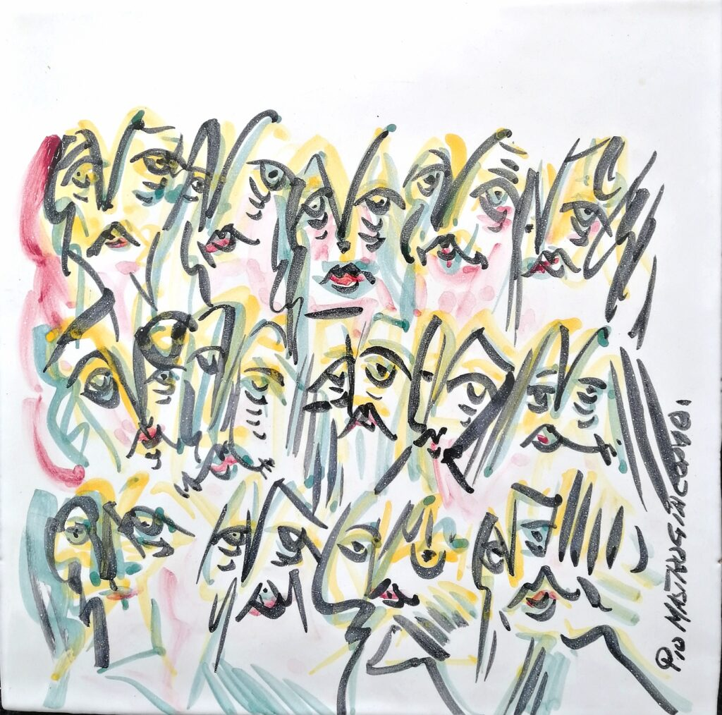 Ceramica artistica, 1995 Pio Mastrogiacomo.