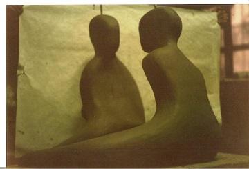 Scultura in argilla del periodo dell'Accademia di Belle Arti di Napoli 1995, Pasquale Mastrogiacomo.